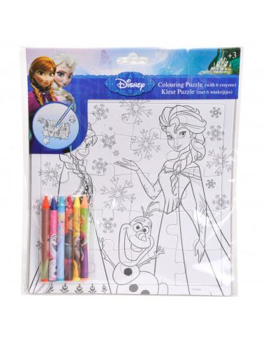 Disney Frozen Kleur je eigen Puzzel