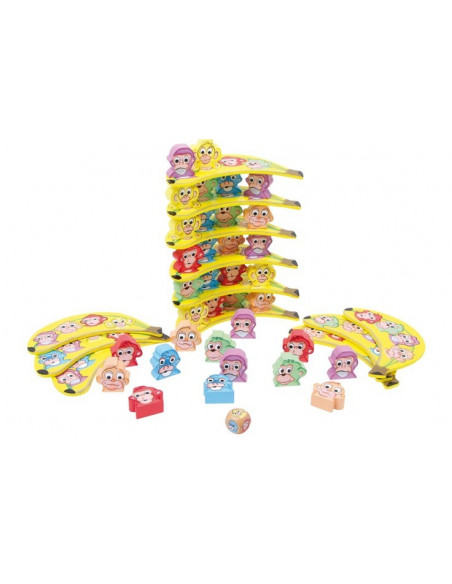 Base Toys houten monkey tower
