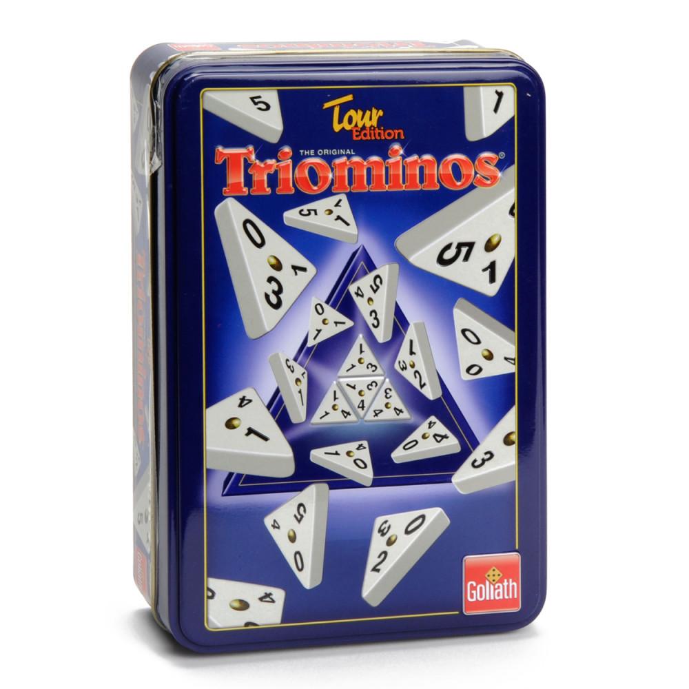 Triominos Reiseditie in Blik