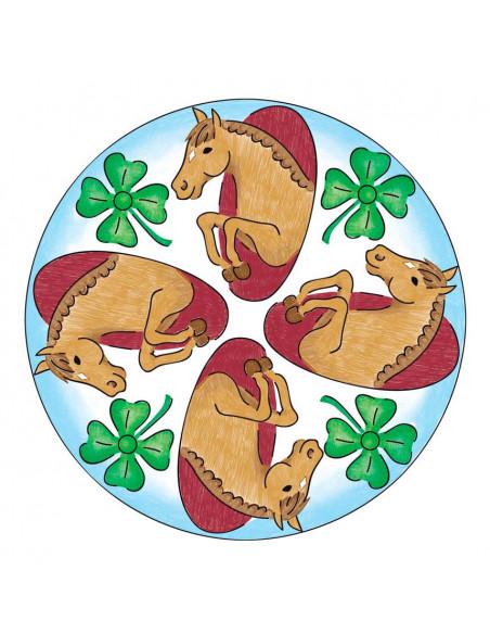 Mandala-Designer 2in1 - Horses