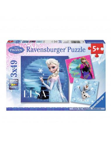 Disney Frozen Puzzel: Elsa, Anna en...