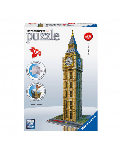 Ravensburger 3D Puzzel Big Ben BT