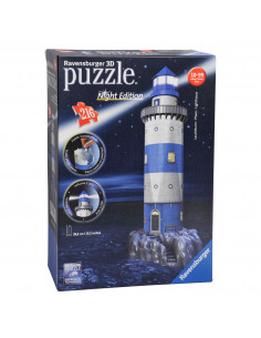 Ravensburger 3D Puzzel Vuurtoren Night Edition
