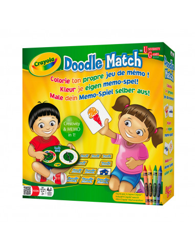 Crayola Doodle Match - Kleur je eigen...