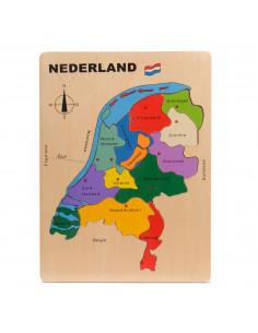 Houten Legpuzzel Nederland