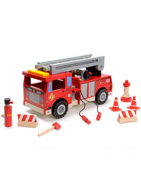 Mentari Houten Brandweerauto