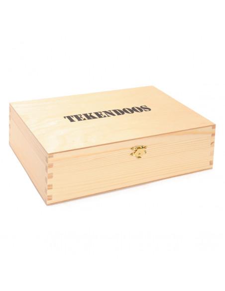 Houten Tekendoos XL