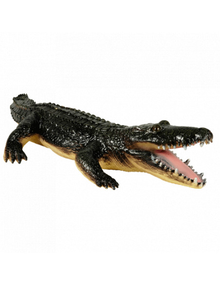 Krokodil Soft Touch, 60cm