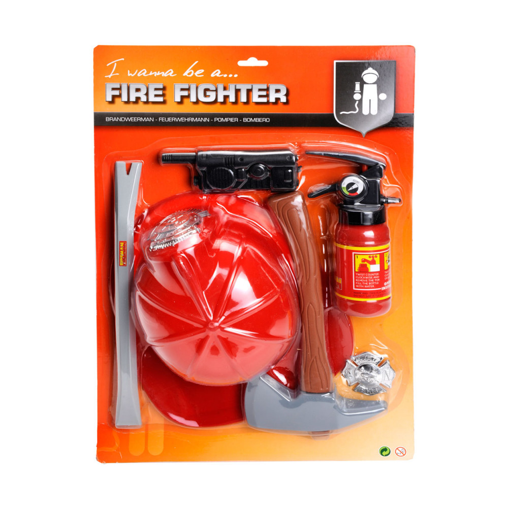 Brandweer Speelset de Luxe