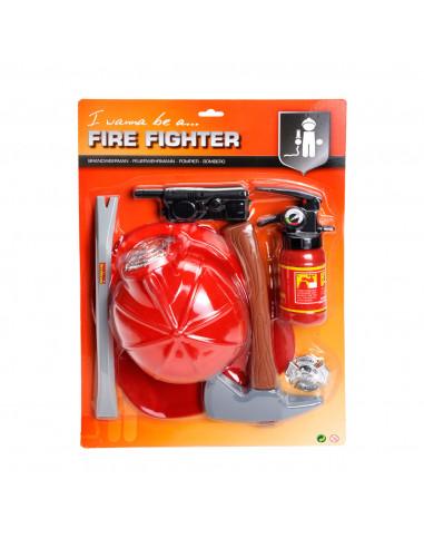 Brandweer Speelset de Luxe BT