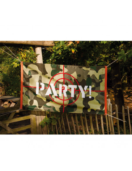Camouflage Vlag Party!