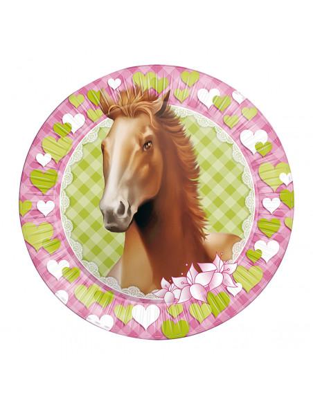 Borden Paarden, 8st.