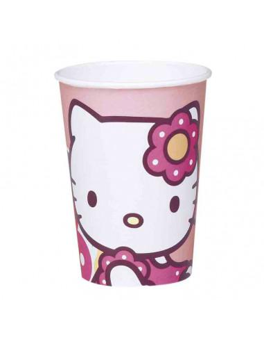 Bekers Hello Kitty, 10st.