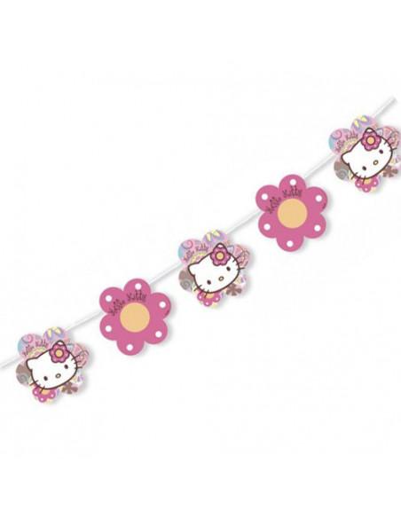 Guirlande Hello Kitty, 4mtr. BT