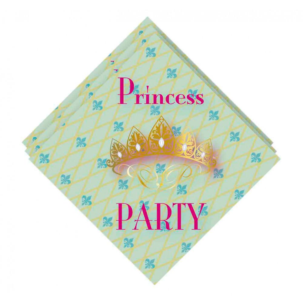 Servetten Princess Party, 20st.