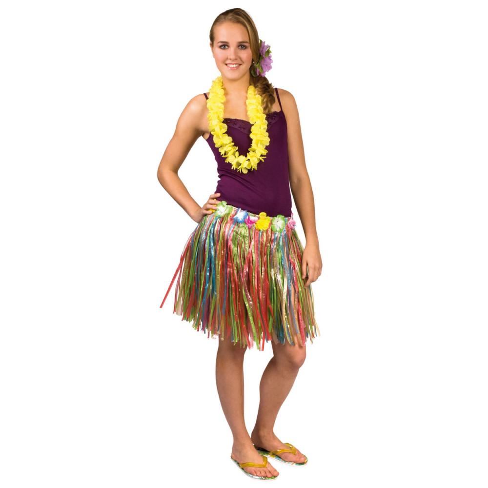 Hawaii Rokje Multi Kleuren (45 Cm)