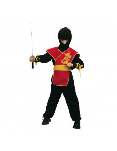 Kinderkostuum Ninja Meester, 4-6 Jaar