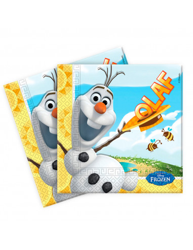 Disney Frozen Olaf Servetten, 20st.