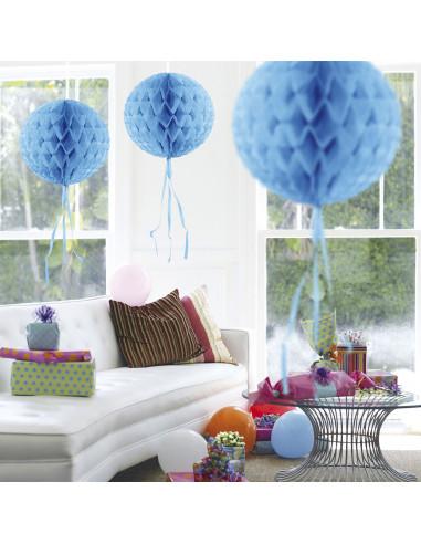 Honeycomb Bal - Lichtblauw