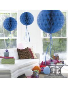 Honeycomb Bal - Blauw