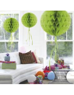 Honeycomb Bal - Lime Groen