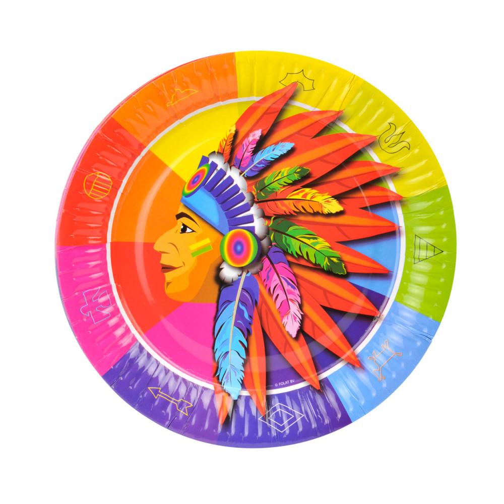 Indianen Bordjes, 8st.