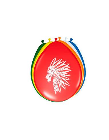 Indianen Ballonnen, 8st.