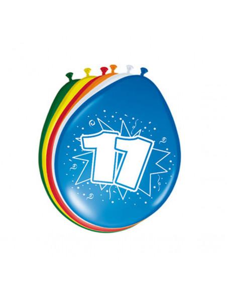 Ballonnen 11 jaar, 8st.