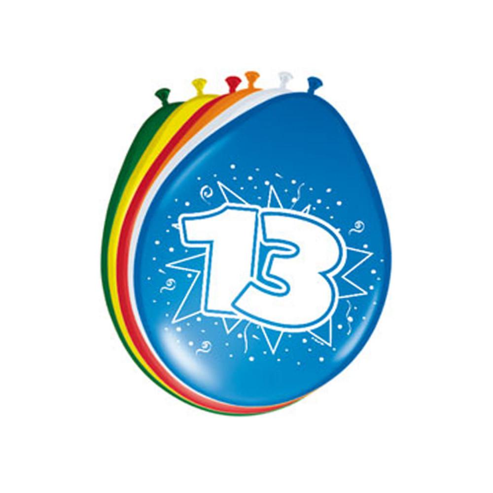 Ballonnen 13 jaar, 8st.