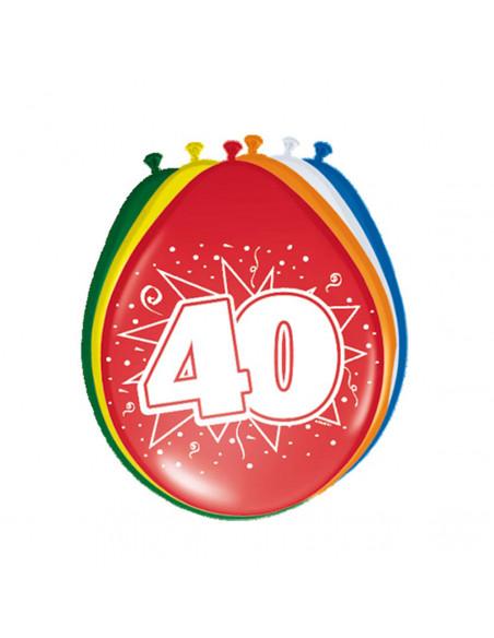 Ballonnen 40 jaar, 8st.
