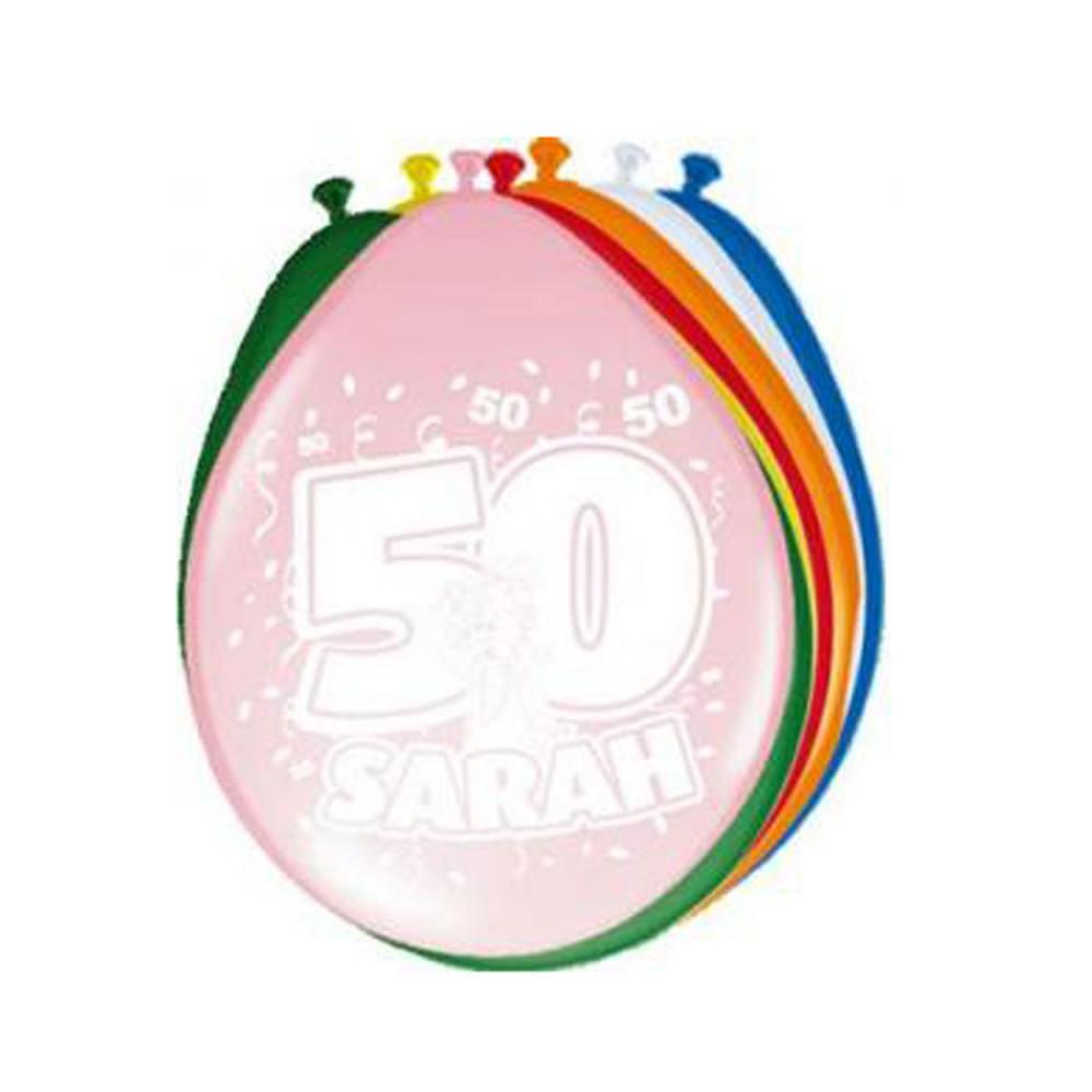Ballonnen Sarah, 8st.
