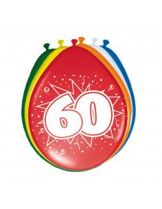Ballonnen 60 jaar, 8st.