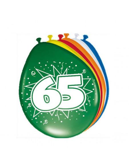 Ballonnen 65 jaar, 8st.