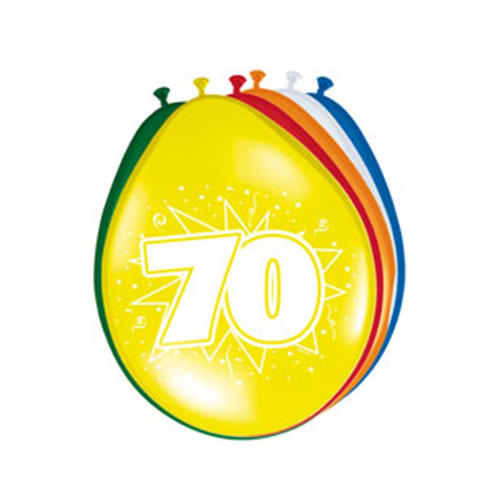 Ballonnen 70 jaar, 8st.