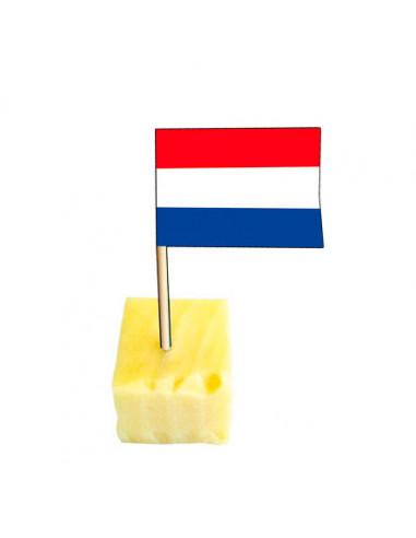 Cocktailprikkers Nederlandse Vlag, 50st.
