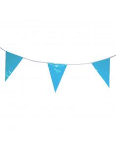 Babyblauwe Vlaggenlijn, 10mtr.