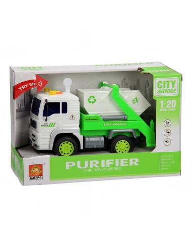 Recyclewagen Licht & Geluid 1:20