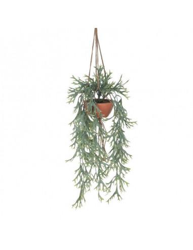 Kunstplant Fijn in Hangpot