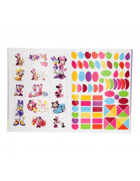Minnie Mouse Sticker- en Kleurboek