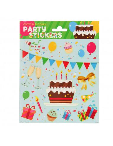 Stickervel Glow in the Dark - Party