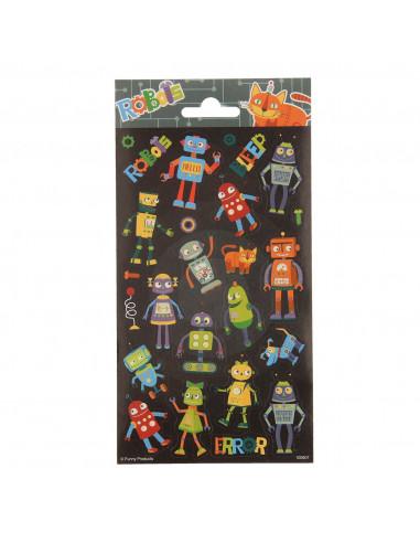 Stickervel Robots