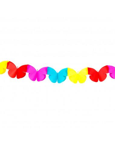Papieren Minislinger - Vlinder, 2mtr.