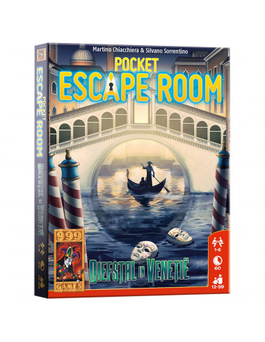 Pocket Escape Room - Diefstal in Venetië