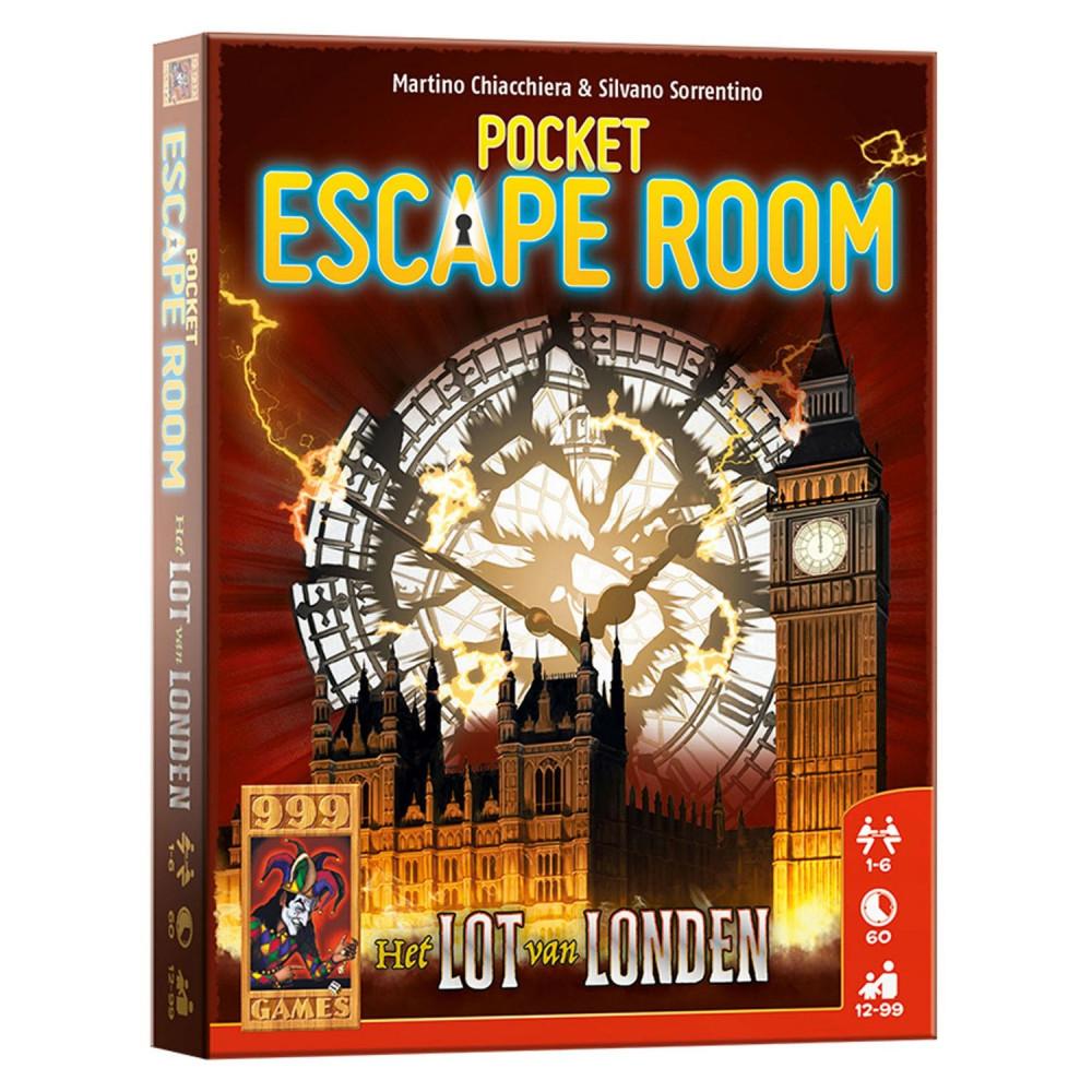 Pocket Escape Room Het Lot van Londen