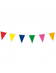 Gekleurde Vlaggenlijn, 10mtr.
