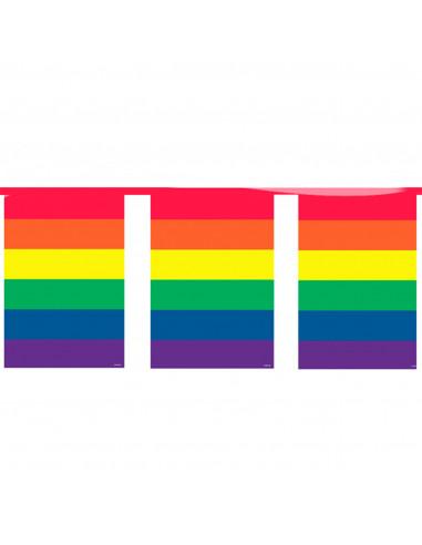 Regenboog Vlaggenlijn, 10mtr.