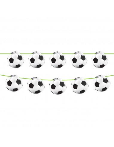 Voetbal Vlaggenlijn, 6mtr.