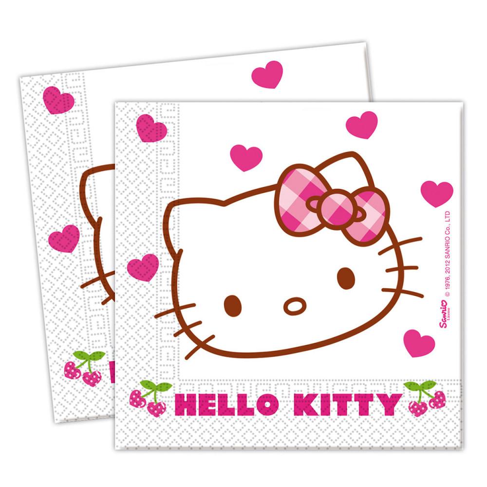 Hello Kitty Servetten, 20st.