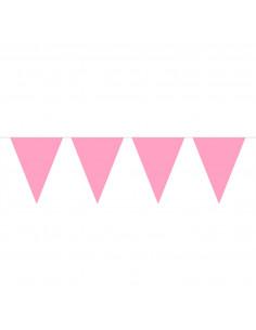 Roze Mini Vlaggenlijn, 3mtr.