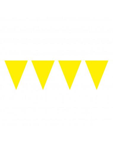 Gele Mini Vlaggenlijn, 3mtr.